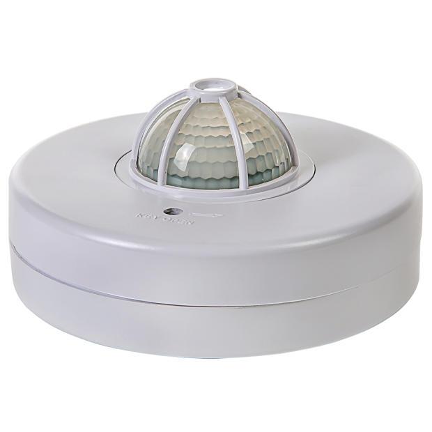 Датчик движения инфракрасный ДД-024-W 1200Вт 180-360 град. 12м, IP33 белый
